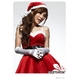クリスマス☆サンタクロースミニスカワンピ4点セット コスプレ - 縮小画像1