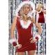 2010新作 クリスマス☆サンタクロースミニスカワンピ3点セット コスプレ - 縮小画像1