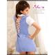 2010新作 背中セクシーミニスカ女子高生制服コスチュームセット☆コスプレ z453 - 縮小画像3