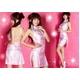 コスプレ ピンクのマイクロミニチャイナドレス*コスプレ/ランジェリー - 縮小画像1