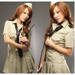 コスプレ ネクタイ付ワンピース風セーラー服  婦警 5325