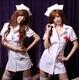 コスプレ 白の看護婦のナースコスプレ*コスチューム 5111 - 縮小画像1