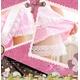 コスプレ 胸元セクシーピンクチェックメイドコスチューム3点セット コスプレ 【2010新作】 - 縮小画像3