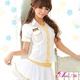 コスプレ 白×ゴールド 女子高生制服 コスチュームセット コスプレ 【2010新作】 写真3