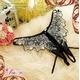 コスプレ 2011新作 ゴージャス刺繍ランジェリー4点セット 写真4