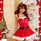 コスプレ 2011年新作 クリスマス☆サンタクロースコスプレセット s007 /コスチューム/ - 縮小画像1
