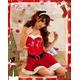 コスプレ 2011年新作 クリスマス☆サンタクロースコスプレセット s007 /コスチューム/ - 縮小画像2