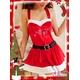 コスプレ 2011年新作 クリスマス☆サンタクロースコスプレセット s007 /コスチューム/ - 縮小画像3