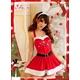 コスプレ 2011年新作 クリスマス☆サンタクロースコスプレセット s007 /コスチューム/ - 縮小画像5
