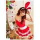 コスプレ 2011年新作 クリスマス☆サンタクロースコスプレセット s006 /コスチューム/ - 縮小画像5