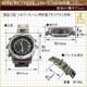 【小型カメラ】腕時計型マルチカメラ(匠ブランド)5気圧防水・ブラックパネル 写真3