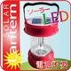 ソーラーLEDランタン(LED使用、AC充電、携帯電話充電機能、FMラジオ付き) 写真1