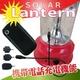 ソーラーLEDランタン(LED使用、AC充電、携帯電話充電機能、FMラジオ付き) 写真2