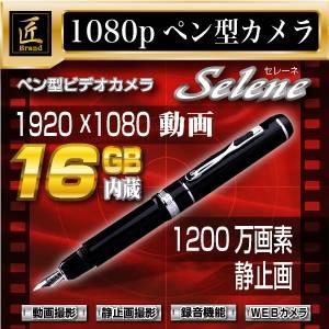 【小型カメラ】ペン型・万年筆型ビデオカメラ(匠ブランド)『Selene』(セレーネ) - 拡大画像