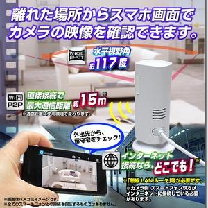 【ホームカメラ】WiFiホームカメラ(匠ブランド)『Smart Pole』(スマートポール) h03