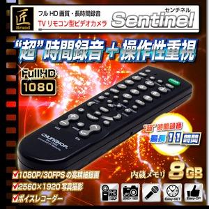 【小型カメラ】TVリモコン型ビデオカメラ(匠ブランド)『Sentinel』(センチネル) - 拡大画像