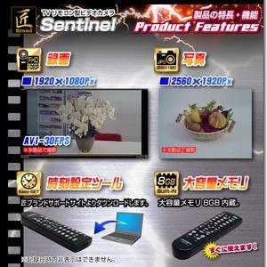 TVリモコン型ビデオカメラ(匠ブランド)『Sentinel』(センチネル) f04
