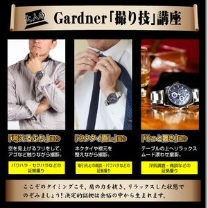 腕時計型ビデオカメラ(匠ブランド)『Gardner』(ガードナー) h02