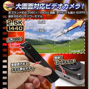 【小型カメラ】ペン型ビデオカメラ(匠ブランド)『Stick Cam』(スティックカム)