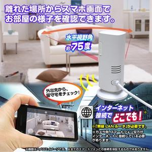 【ホームカメラ】WiFiホームカメラ『Smart Pole IR』(スマートポールアイアール)