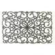 アクリル玄関マット オーナメント 50×80 ホワイト - 縮小画像2