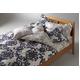 LANCETTI(ランチェッティ) パラッツォ 掛け布団カバー ダブル ブルー 綿100% 日本製