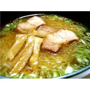 比内地鶏 中華そば (8食セット) - 拡大画像