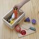 「木のおもちゃ ウッディプッディ」はじめてのおままごと(木箱入りセット) 写真3
