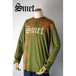 smet(スメット) long tee flagskull(men's) green S h01