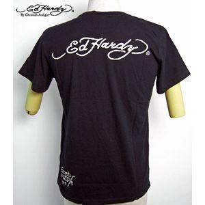 ed hardy(エドハーディー) メンズTシャツ Basic King Dog ブラック S