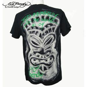 ed hardy(エドハーディー) メンズTシャツ surfing panther ブラック S