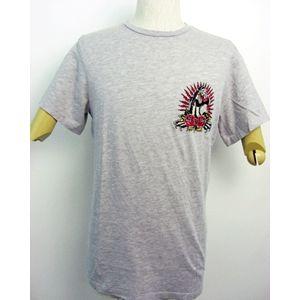 ed hardy(エドハーディー) メンズTシャツ Basic PANTHER & ROSES ベージュ S h01
