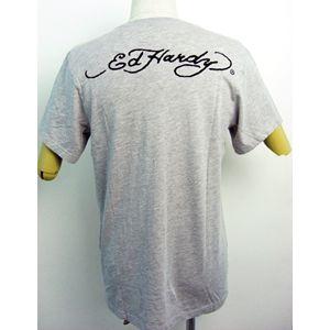 ed hardy(エドハーディー) メンズTシャツ Basic PANTHER & ROSES ベージュ S h02