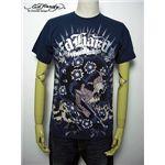 ed hardy(エドハーディー) メンズTシャツ Beautiful Ghost Blue S