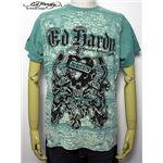 ed hardy(エドハーディー) メンズTシャツ LKS & Dragons Sage S
