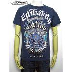 ed hardy(エドハーディー) メンズTシャツ Pin Up Two Swords ネイビー S