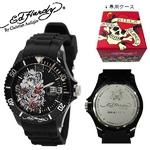 ed hardy(エドハーディー) 腕時計 メンズ/レディース【MH-KC1176】ブラック