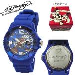 ed hardy(エドハーディー) 腕時計 メンズ/レディース【MH-CD0600】ブルー
