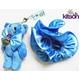 KITSON(キットソン) クマ キーホルダー 携帯ストラップ&シュシュ セット ブルー