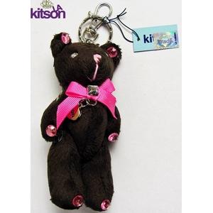 KITSON(キットソン) クマ キーホルダー ブラウン - 拡大画像