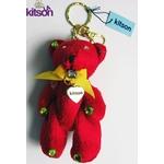 KITSON(キットソン) クマ キーホルダー レッド