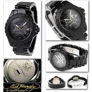 エドハーディー 腕時計 ユニセックス 腕時計 【日本限定モデル】ラブキル ストーン付き 【DU-BS】  - 拡大画像