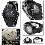 エドハーディー 腕時計 ユニセックス 腕時計 【日本限定モデル】ラブキル ストーン付き 【DU-BS】
