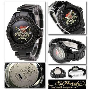 エドハーディー 腕時計 ユニセックス 腕時計 【日本限定モデル】ラブキル ストーン付き 【DU-BC】  - 拡大画像