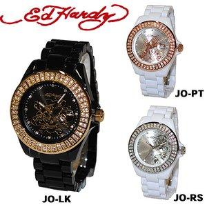 ED HARDY(エドハーディー)腕時計 Ed Hardy Watch JOLIE ラブキル パンサー ローズ JO-LK /ブラック - 拡大画像