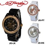 ED HARDY(エドハーディー)腕時計 Ed Hardy Watch JOLIE ラブキル パンサー ローズ JO-LK /ブラック