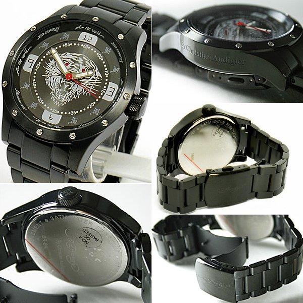 エドハーディー エド・ハーディー 時計 Ed Hardy 腕時計 Tiger タイガー 「BR-BK」 【ED HARDY】f00