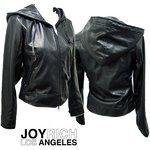 JOYRICH(ジョイリッチ) レディース メタル ライダージャケット METAL RIDER JACKET #JOY-F1024JK/ XS