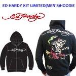 Ed Hardy(エドハーディー) メンズ パーカー ED HARDY KIT LIMITED HOODIE SPEEDY スビーディー 【M08LMT103】 M