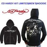 Ed Hardy(エドハーディー) メンズ パーカー ED HARDY KIT LIMITED HOODIE LKS ラブキル 【M08LMT052】 L